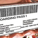Boarding Pass Osama bin Laden