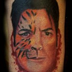Charlie Sheen Tattoo